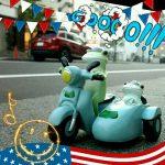 ぶんぶーん!バイクの日☆コポーサイドカードライブ