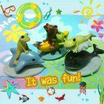 海で遊ぼう☆コポーと遊ぶクジラさんとイルカさん