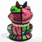 [import] Romero Britto - Frog Frenchie